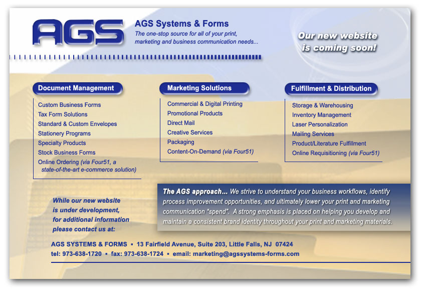 AGS Systems & Forms